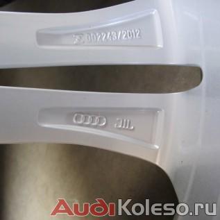 Колеса лето R20 255/35 Audi A6 C7 4G0601025BT эмблема Ауди