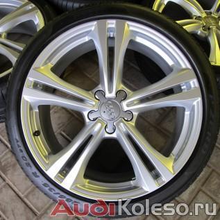 Колеса лето R20 255/35 Audi A6 C7 4G0601025BT заглавное фото спереди