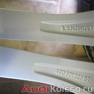 Колеса лето R20 255/35 Audi A6 C7 4G0601025BT оригинальный номер и параметры диска