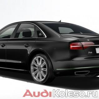 Оригинальные диски Ауди 4H0601025N на Audi A8 D4 4H