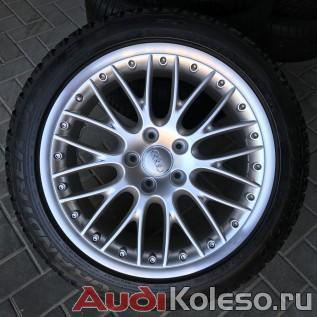 Колеса зима R20 275/45 Audi Q7 4L0601025G спереди сверху