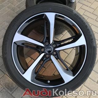 Колеса летние оригинальные R21 285/40 Audi Q7 4M 4M0601025AB главное фото лицевой части колеса