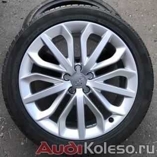 Колеса зима R19 235/45 Audi A6 S6 C7 4G0601025P главное фото оригинального литого диска ауди