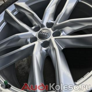 Колеса зимние оригинальные R21 285/40 Audi Q7 4M 4M0601025S фото диска под углом