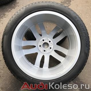 Колеса зимние оригинальные R21 285/40 Audi Q7 4M 4M0601025S фото внутренней стороны диска