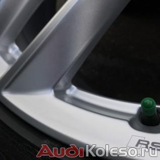 Колеса зимние оригинальные R21 285/40 Audi Q7 4M 4M0601025S надпись rs на ободе диска