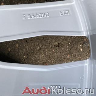 Колеса зимние оригинальные R21 285/40 Audi Q7 4M 4M0601025S оригинальные параметры диска и эмблема audi ag