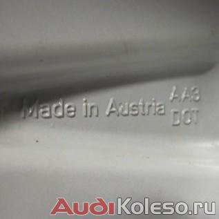 Оригинальные литые диски audi a4 allroad r18 с летними шинами пирелли пзеро