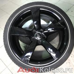 Колеса роторы лето R19 255/35 Audi A4 S4 8K 8K0601025CN диск спереди
