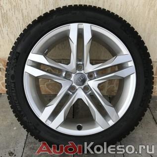 Колеса зима R18 245/45 Audi A4 Allroad B9 8W9601025B главное фото